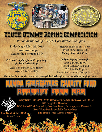 Dummy Roping contest 2015