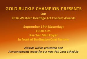 GBC Western Heritage Art Contest Awards Ceremony @ Karcher Mall  | Nampa | Idaho | United States